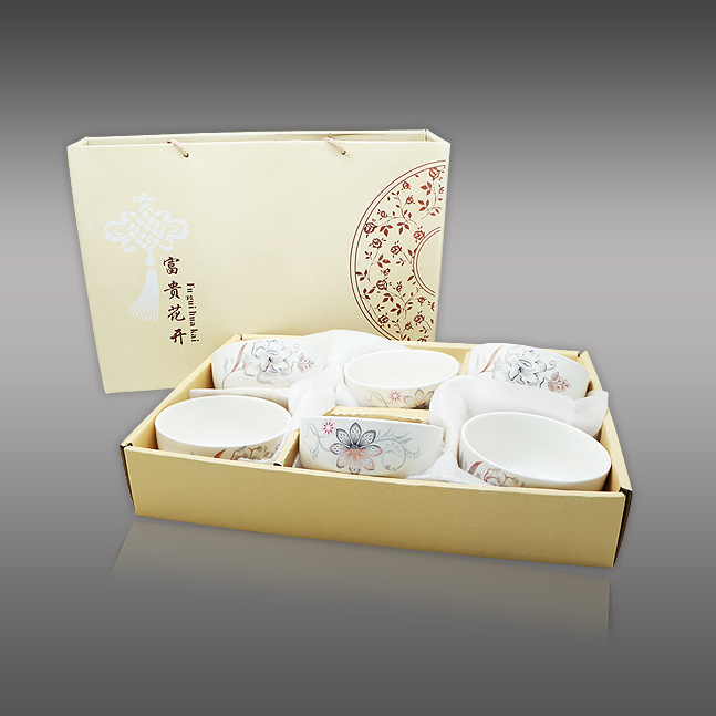 SC B6 - Oriental Rice Bowl Set 6