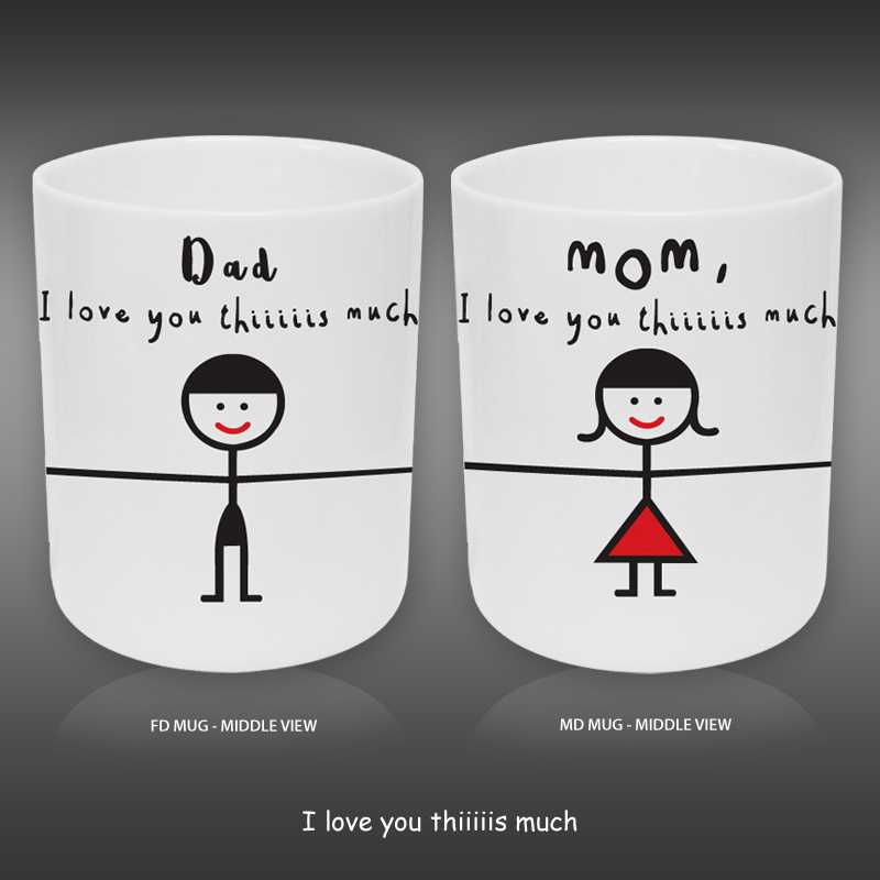 PD20200200 - Combo Set Father's Day (FD) x Mother's Day (MD) Ceramic Mug