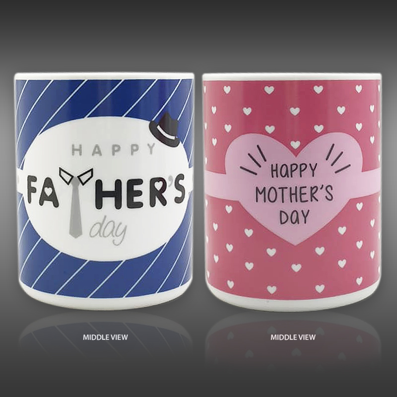 PD20200300 - Combo Set Father's Day (FD) x Mother's Day (MD) Ceramic Mug